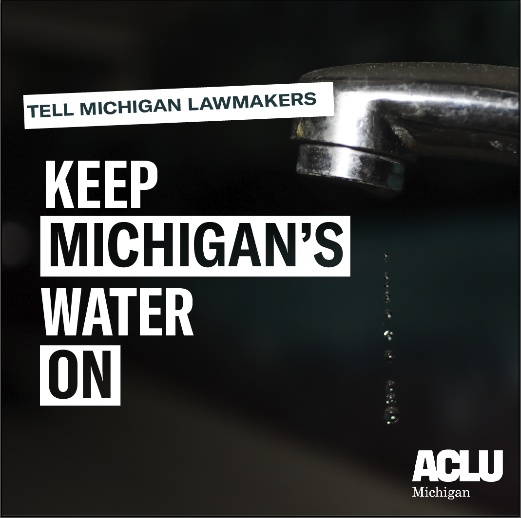 Tell Michigan lawmakers to keep Michigan's water on