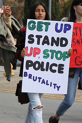 Get up, stand up, stop police brutality