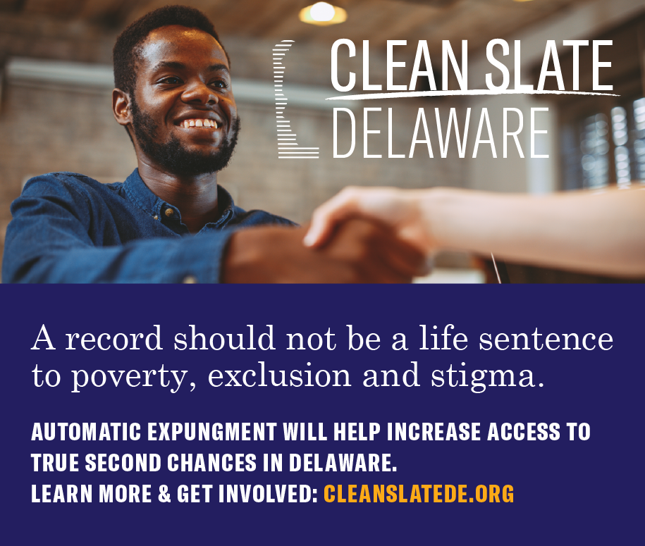 A record should not be a life sentence to poverty, exclusion and stigma. Learn more at CleanSlateDE.org.