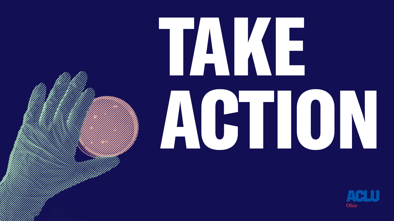 Take Action - COVID-19 and Ohio's Incarcerated Population