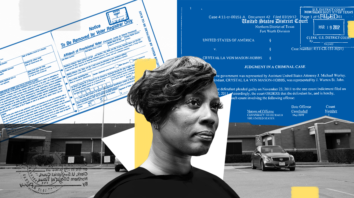 Crystal Mason is facing a five-year sentence for exercising her right to vote. Take the pledge and show her your support.