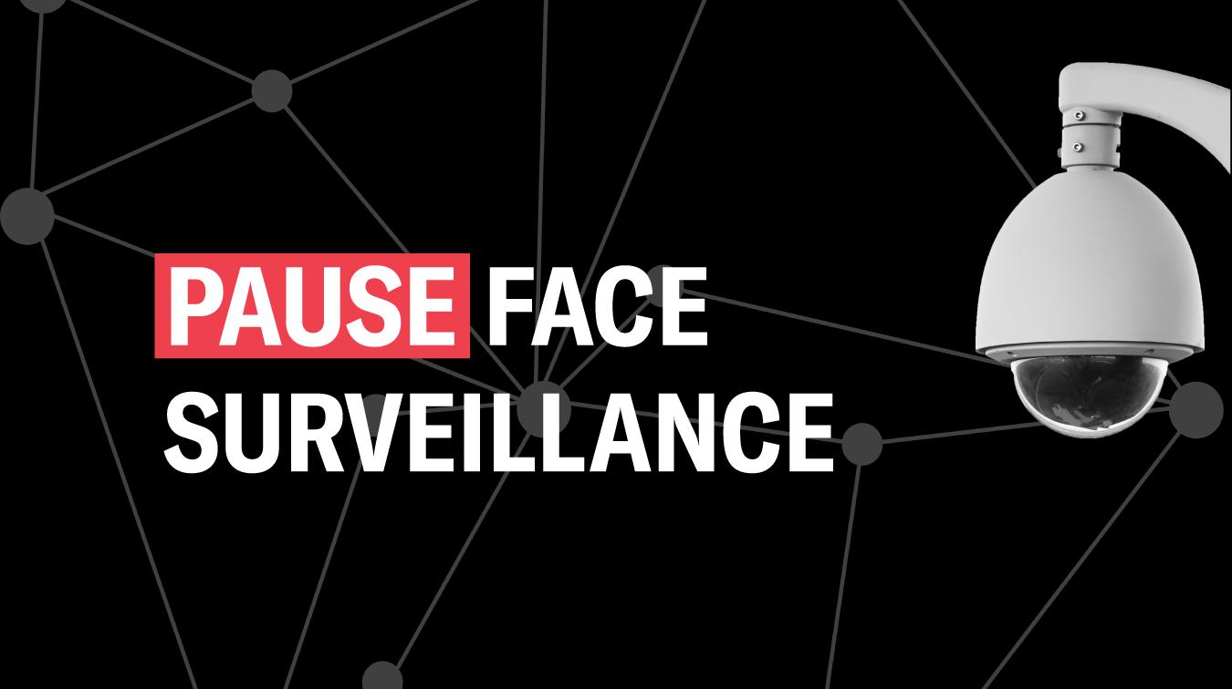 Pause Face Surveillance