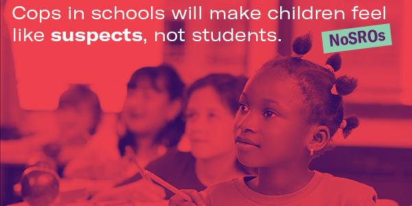 No SROs in schools