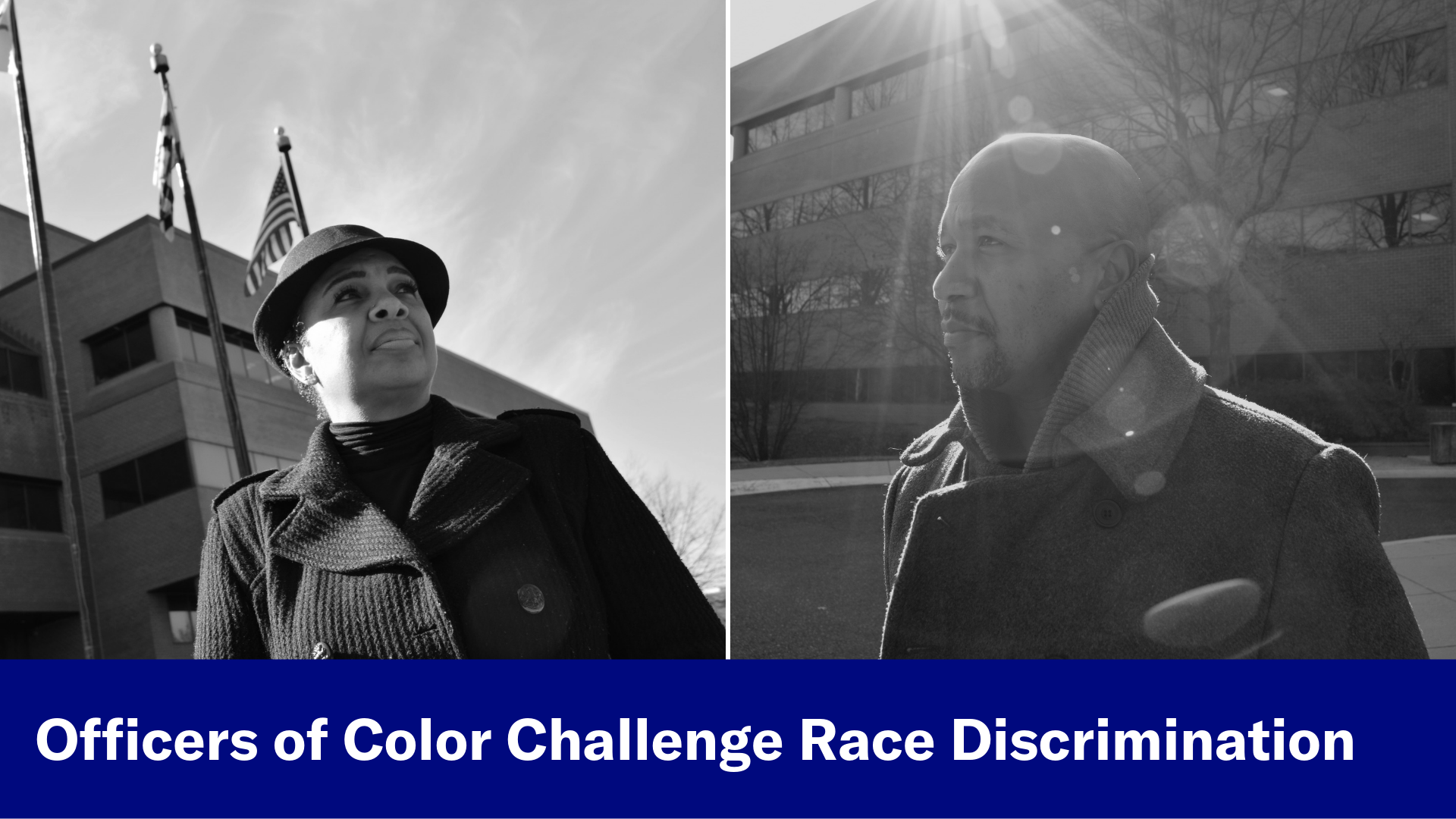 Officers of Color Challenge Race Discrimination
