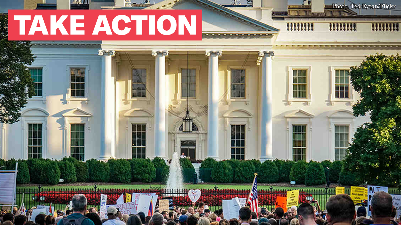 Stop The Trump Administration's Plan to Stifle Protests