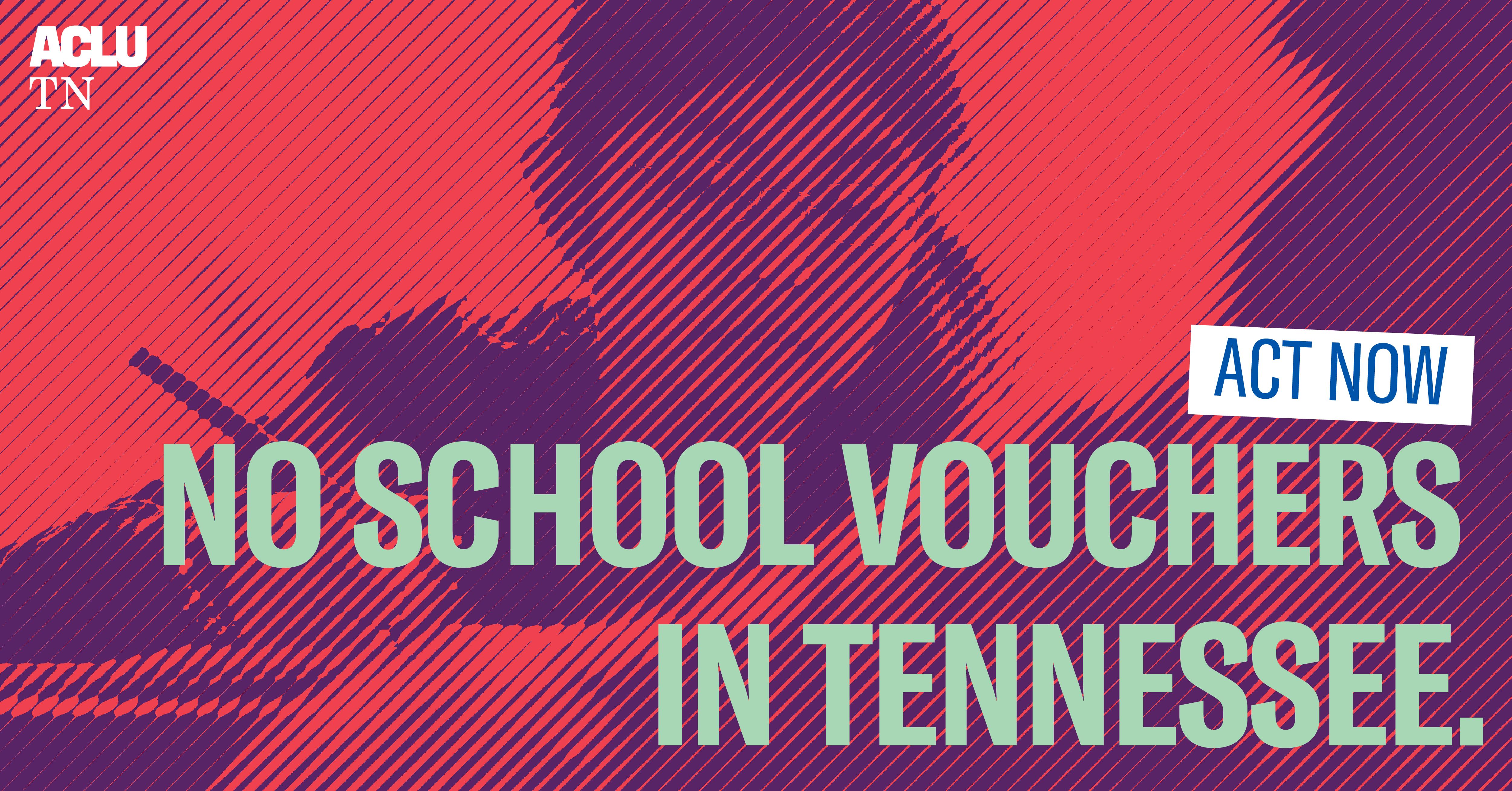 No school vouchers in Tennesee