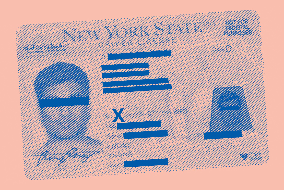 Driver's License with X gender marker