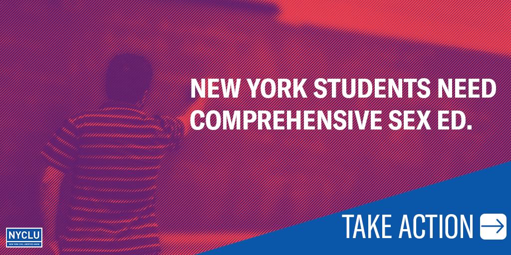 New York Students Need Comprehensive Sex Ed