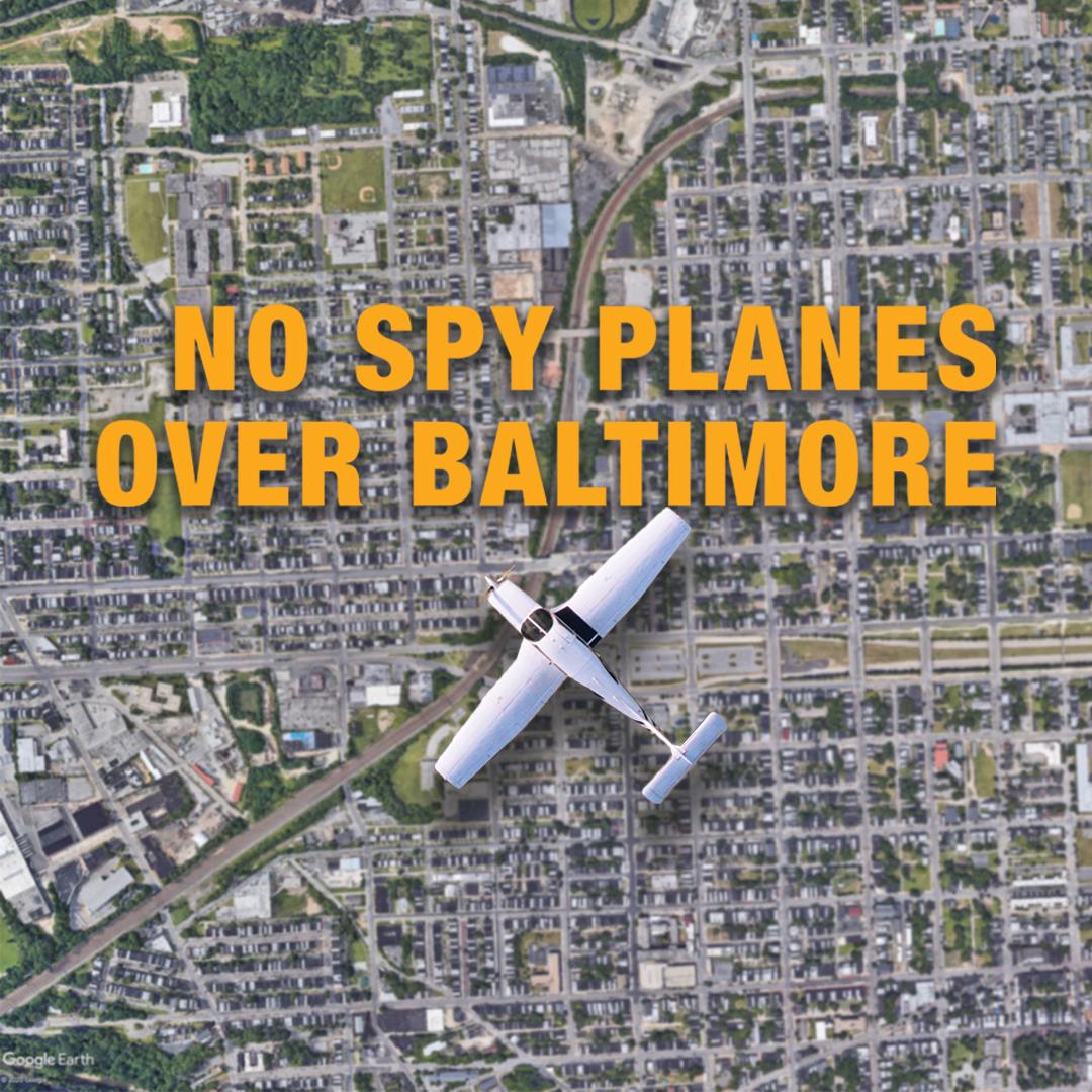 No Spy Planes Over Baltimore