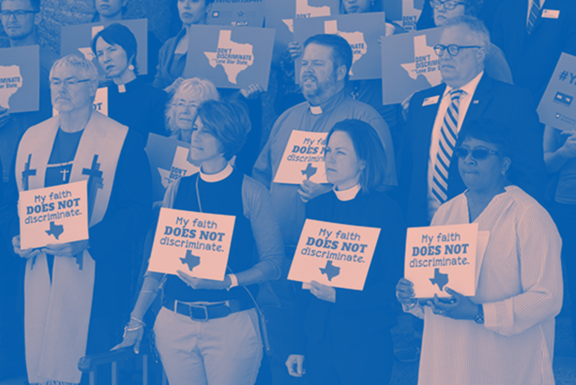 Tell Your Representative: Keep Discrimination out of Texas