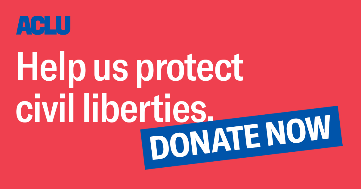 Donate to the ACLU | American Civil Liberties Union