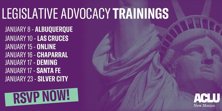Advocacy Trainings