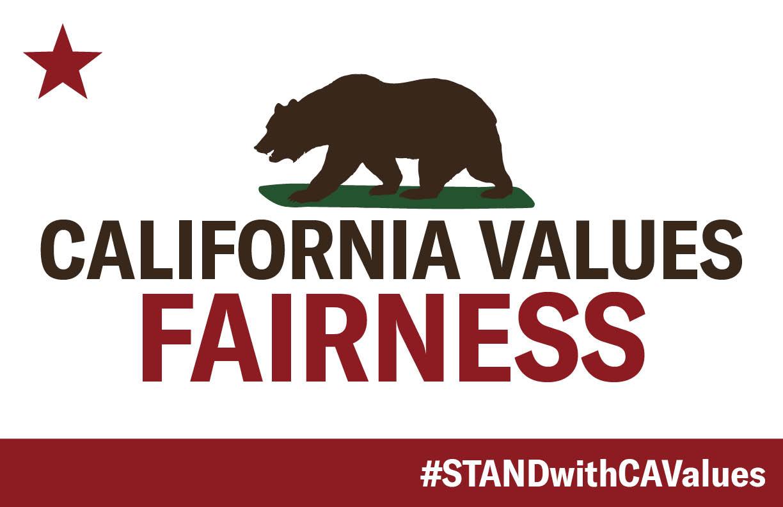 California Values Fairness