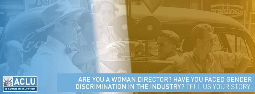 Are you a woman director? Tell us your story.