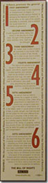 Picture of Bill of Rights Bookmark