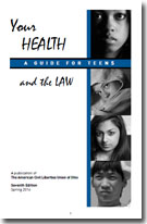 Your Health and the Law brochure cover