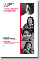 Your Health and the Law brochure Spanish cover