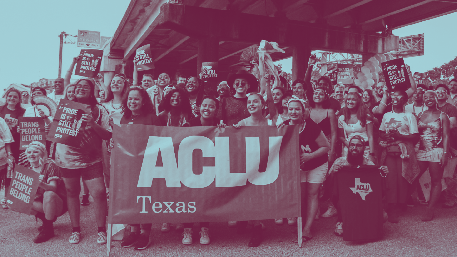 Join the ACLU of Texas at the 2019 Austin Pride Parade