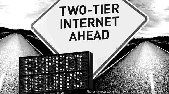 Two internets ahead