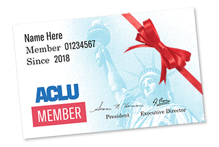 ACLU Membership Card